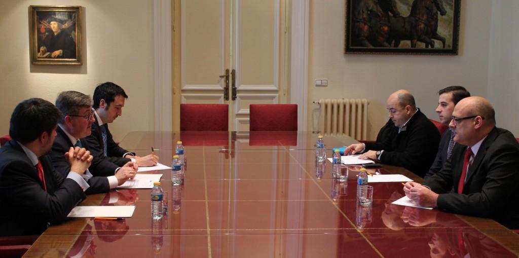 El Secretario de Estado de Educación, Marcial Marín, se reúne con la Asociación de Legumbristas de España para tratar el Plan de Hábitos Saludables