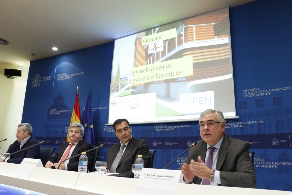 4.- El Presidente de la FEN destacó el valor insustituible de las legumbres en una dieta saludable