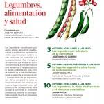 Ciclo de conferencias con motivo del año internacional de las legumbres
